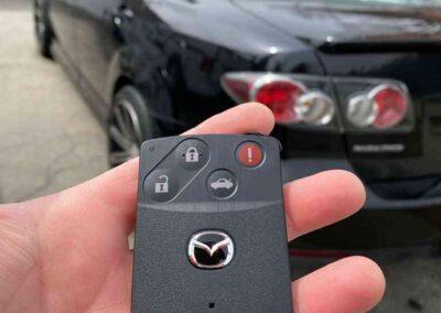 Mazda remote control keys