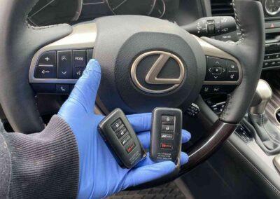 Lexus ignition remote control key