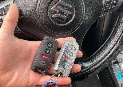 Suzuki remote control keys