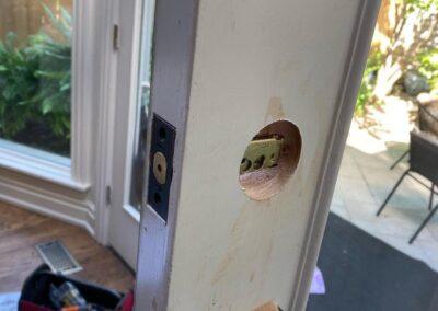 adding a deadbolt to entry door